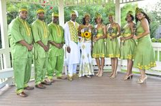 African Wedding featuring clothing by TeKay Designs Nigerian Weddings, African Weddings, Ethiopian Wedding, African Attire, African Wear, African Style, African American Brides, New Designer Dresses, African Wedding Dress