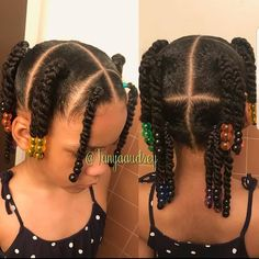 Black Toddler Hairstyles, Cute Little Girl Hairstyles, Girls Natural Hairstyles, Baby Girl Hairstyles, Natural Hairstyles For Kids, Kids Braided Hairstyles, Baby Hair Growth, Curly Hair Styles, Natural Hair Styles