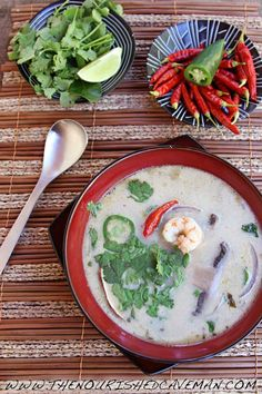 Thai Coconut Soup with Shrimp or Chicken | The Nourished CavemanThe Nourished Caveman