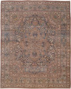 A Mashad Carpet - 10ft. 5in. x 12ft. 11in.