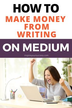 Learn how to make money from writing on Medium! Inspire Your Success Podcast interview with Anthony Moore unpacks the tactics he used to propel his online writing business. Use these tips to succeed! #onlinewriting #freelancewriting #makemoneyonline #howtoblog #newcareer #stayathome