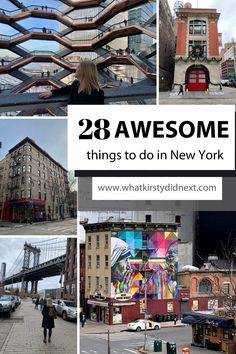 28 awesome things to do in NYC Travel Couple, Family Travel, Best Places To Travel, Places To Visit, Central America, North America, Travel Guides, Travel Tips, New York City Travel