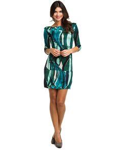Catherine Malandrino Foret Print Shift Dress $275.00