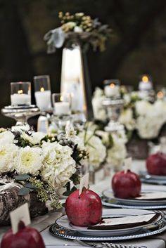 we ❤ this!  moncheribridals.com  #weddingtablescape #weddingescortcards