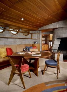 David & Gladys Wright Residence. 1950. Phoenix Arizona. Usonian. Frank Lloyd Wright