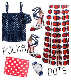"""""""So Dotty: Polka Dots"""" by laurabosch on Polyvore featuring Gucci, J.Crew, Comme des Garçons, adidas and PolkaDots"""