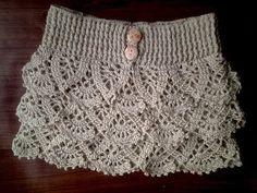 crochet the cascade stitch - YouTube