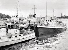 PIER 9 at SHEEPSHEAD BAY, Brooklyn, NY – 1953 No Sleep Till Brooklyn, Lobster Fishing, Past, World, Places, Color, Past Tense, Colour, The World
