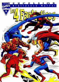 Biblioteca #Marvel Los cuatro fantásticos