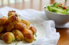 receita de batatas ao murro com tomilho e azeite
