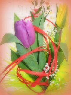 Impresja na temat bukietu kwiatów