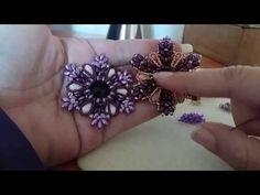 DiY Ciondolo Trilly--- come realizzare il ciondolo con ES-O e superduo - YouTube