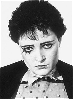 An early Siouxsie Sioux shot paying homage to A Clockwork Orange