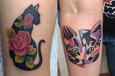 26 Totally Purrr-Fect Cat Tattoos