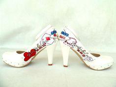 Vegas custom design wedding shoes by KUKLAfashiondesign : https://www.etsy.com/shop/KUKLAfashiondesign