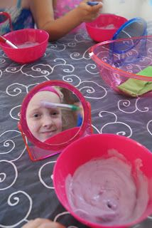 Not Home Yet!: little girls spa birthday party
