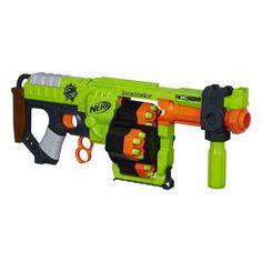 Nerf Zombie Strike Doominator Blaster | HasbroToyShop