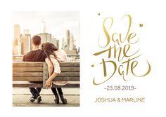 Save the Date Kerstkaart foto, verkrijgbaar bij #kaartje2go