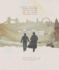 Sherlock and John.