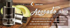 Geekvape Avocado 24 - A Genesis Velocity Hybrid RDTA tank