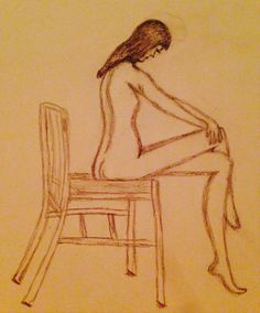 Nude Sketch of a Woman Drawing Journal, Art Sketchbook, Drawing People, Nudes, Journals, Art Drawings, Sketches, Characters, Woman