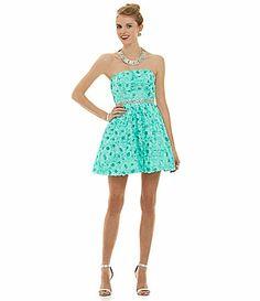 As U Wish Soutache Party Dress #Dillards