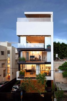 The Style Examiner: The most beautiful homes in the world: Tel Aviv town house 1, Israel, by Pitsou Kedem architects