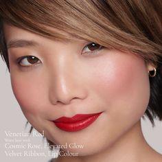 Venetian Red (Enlivening Blush) | Lisa Eldridge Becoming A Makeup Artist, Lisa Eldridge, Raspberry Seed Oil, Cream Blush, Old Paintings, Makeup Collection, Venetian, Makeup Tips, Skin Care