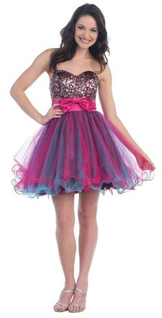 Prom Dresses Strapless Dress XL/14 for Prom by dressdress on Etsy, $85.00       this is too cute!!!!!!!