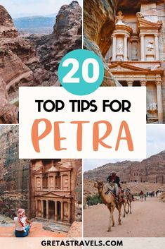 Planning a trip to Petra in Jordan? Discover the 20 essential things you need to know before visiting Petra. International Travel Checklist, Jordan Travel, Travel Advice, Things To Know, Cool Places To Visit, Middle East, The Good Place, Jordan Petra, Jordans