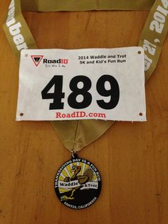 Waddle and Trot 5K Santee, CA   November 21, 2014