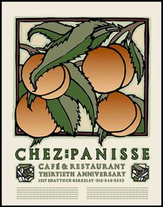 I love my Chez Panisse poster by David Goines. Time to find another poster to pair with it.