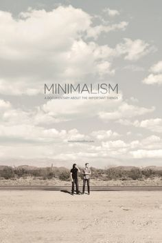 "Reserve tickets to see ""Minimalism: A Documentary About the Important Things"" in Marlton, NJ. It's showing for one night only! #MinimalismFilm #TheMinimalists"