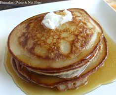 Cassava Flour Review   TWO Pancake Recipes!!! {Both Paleo