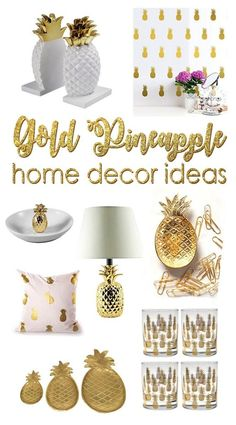 Magnificent I'm kinda obsessed with pineapples these days. These are 20 gorgeous pineapple decor ideas. The post I'm kinda obsessed with pineapples these days. These are 20 gorgeous pineapp… appeared first on Etty Hair Saloon . Gold Pineapple Decor, Pinapple Decor, Pineapple Decorations, Pinapple Art, Pineapple Girl, Funky Home Decor, Easy Home Decor, Modern Decor, Contemporary Interior