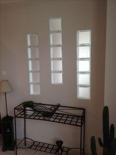 Id e motif briques de verre d co appart pinterest for Block lock brique de verre