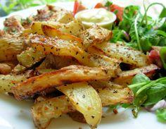 Montreal-Seasoned Oven Fries