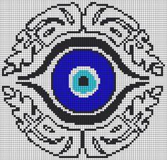 Alpha Friendship Bracelet Pattern #13212 - BraceletBook.com