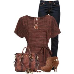 Brown Boots and Tunic