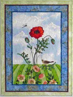Poppy Soliloquy by Sandra Frieze Leichner, best of show