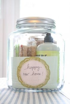 37 ideas for gifts in a jar.