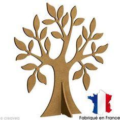 Árbol manzano de madera para decorar - 37 x 36 cm Wood Crafts, Diy And Crafts, Crafts For Kids, Arts And Crafts, Paper Crafts, Cardboard Tree, Tree Templates, Origami Paper Art, Tree Artwork