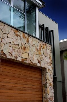 Crackenback® Freeform® Stone Wall Cladding by Eco Outdoor Exterior Cladding, Wall Cladding, Flag Stone, Natural Stone Cladding, Crazy Paving, Feature Walls, Stone Walls, Facade House, Fence Ideas