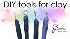 [ENG] DIY Tools for sculpting polymer clay - tutorial tools for fimo do ...