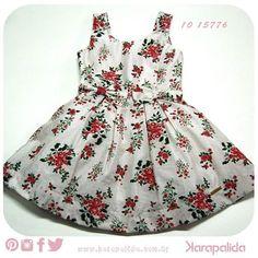 Quarta-feira florida, com cheiro de romantismo no ar. Vestidinho cute para as princesinhas que não resistem a um modelito bem armadinho!