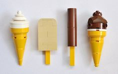 "popstreetkidz: "" stella-kids: "" Lego Ice Cream by Henning Birkeland "" Yes… Lego Design, Legos, Lego Food, Lego Lego, Lego Games, Lego Activities, Lego Batman, Chat Origami, Lego For Kids"