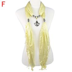 Bandanas pendant scarf women's favorite jewlery findings decorative NL-1830F #Welldone #Stole