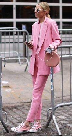 If this outfit was black 🖤😍Fantastic 60+ Women's Suits Style Ideas