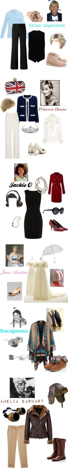 """""""Female role models"""" by dedeaz on Polyvore"""