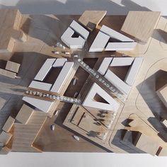 Ideas For Road Landscape Design Lights Architecture Design, Black Architecture, Architecture Model Making, Architecture Portfolio, Concept Architecture, Masterplan Architecture, Chinese Architecture, Landscape Model, Landscape Design